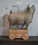 Pig on wheels 3